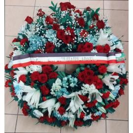 Commémoration - couronne de deuil
